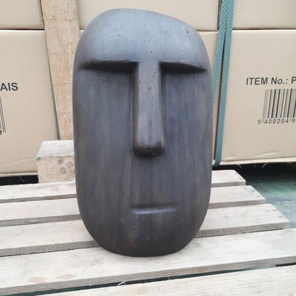 Beeld, Tuin, Moai, Green-ID
