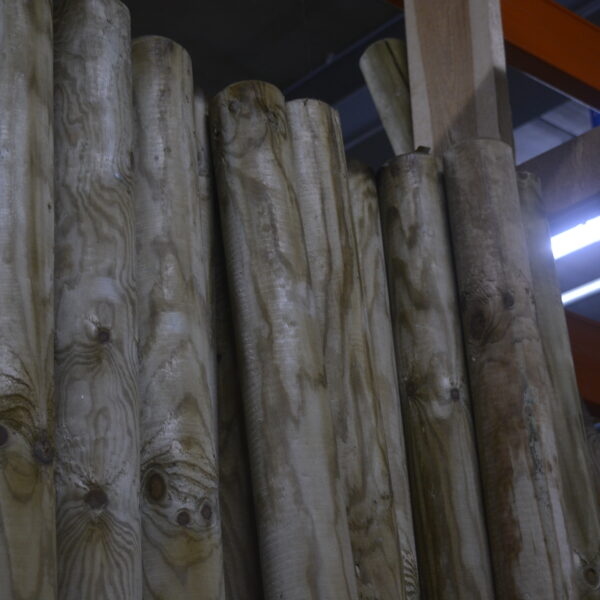 paal, tuinhout, hout, green-id